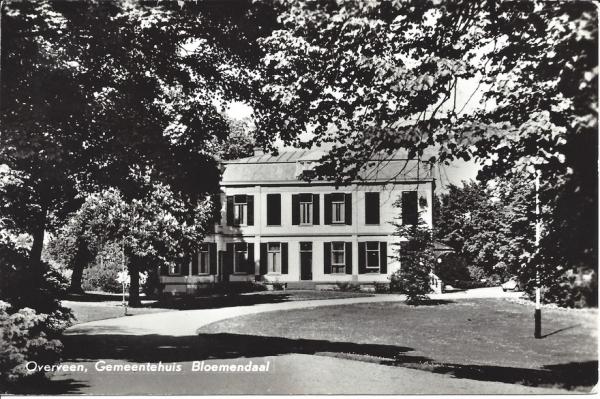 Bloemendaalscheweg, Villa Nagtegaal, 1965