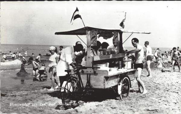 Zeeweg, B'daal aan Zee, 1961 (1)