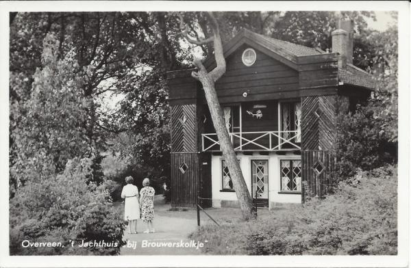 Brouwerskolkweg, Jachthuis, 1957