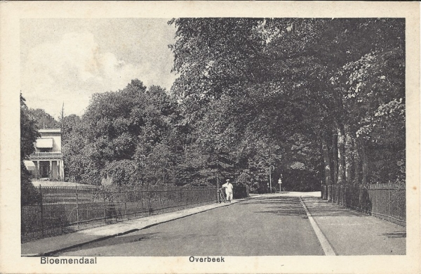 Bloemendaalscheweg, Overbeek
