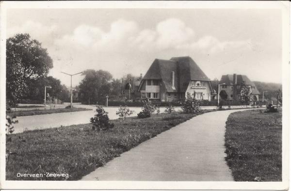 Zeeweg, hoek Spoorlaan, 1939