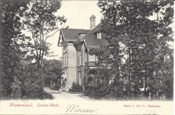 Midden Duin en Daalscheweg, Louise State, 1904