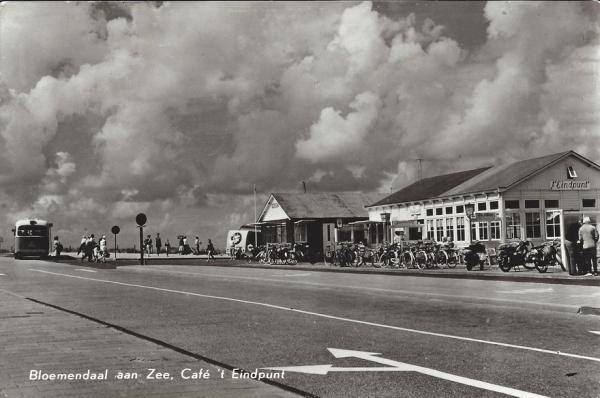 Zeeweg, Bloemendaal aan Zee, 1963