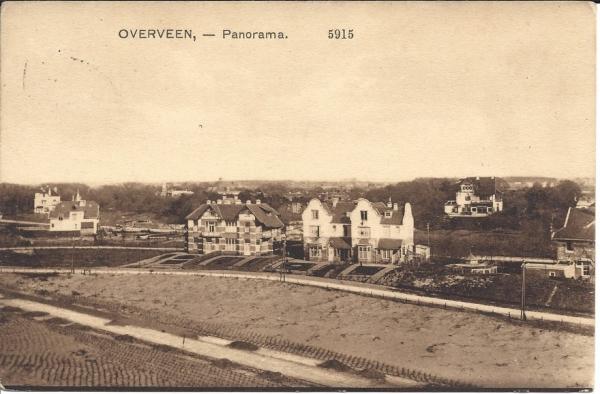 Overveen, Panorama, 1913