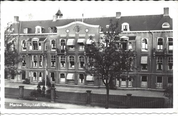 Bloemendaalscheweg, Huize Duinrust, Marine Hospitaal, 1961