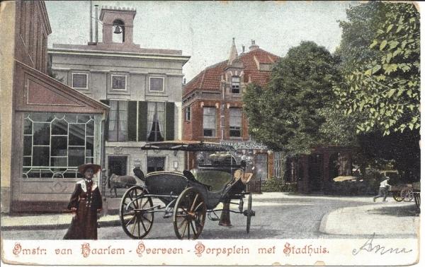 Bloemendaalscheweg, hoek Zijlweg, 1904