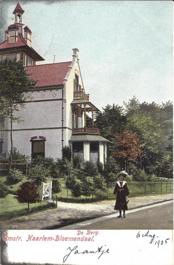 Rijperweg, Villa de Berg, 1905