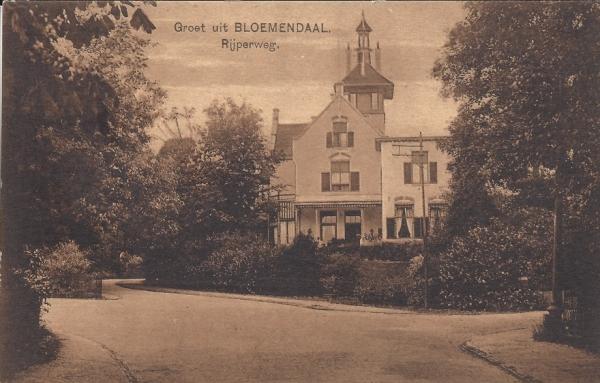 Rijperweg, Villa de Berg