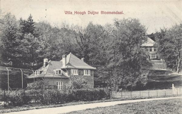 Midden Duin en Daalscheweg, Villa Hoogh Duijne, 1906