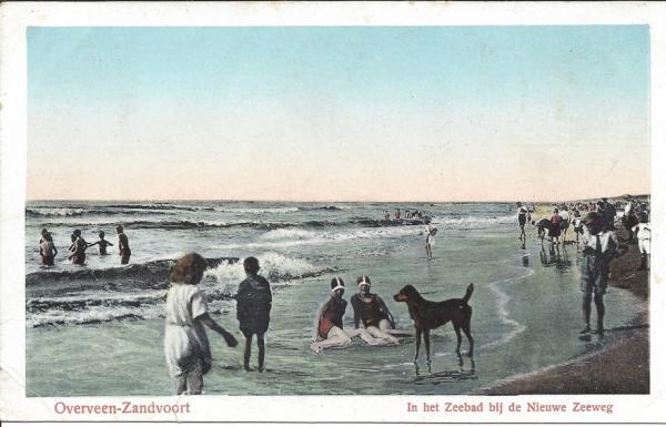 Zeeweg, B'daal aan Zee, 1928
