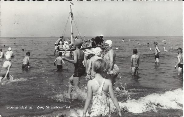 Zeeweg, Bloemendaal aan Zee, 1959