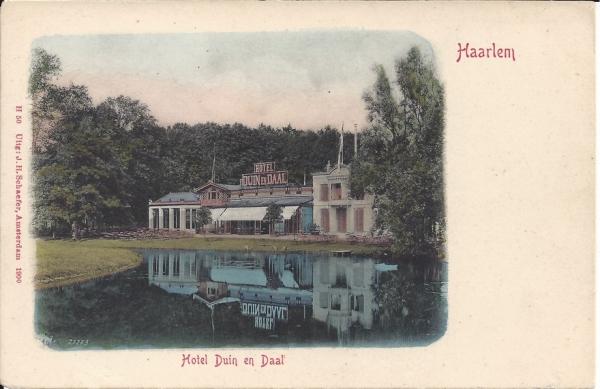 Koninginneduinweg, Hotel Duin en Daal, 1904 (2)