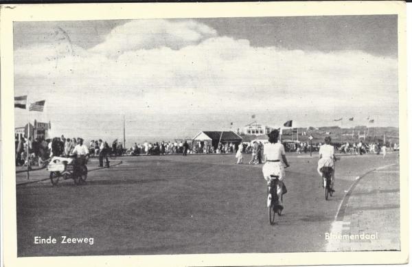 Zeeweg, B'daal aan Zee, 1950