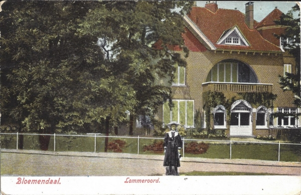 Rijperweg, Villa Lommeroord, 1907