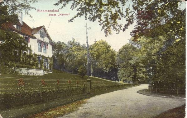 Midden Duin en Daalscheweg, Huize Karmel, 1913
