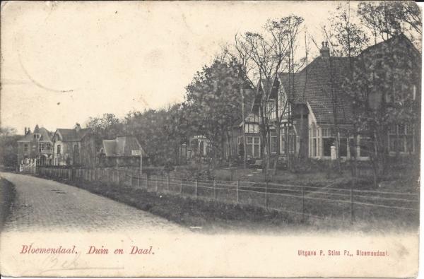Lage Duin en Daalscheweg, Villa Elshof, 1900