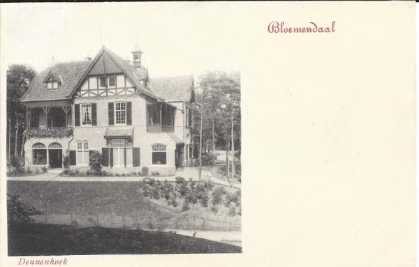 Parkweg, Villa Dennenhoek,1900