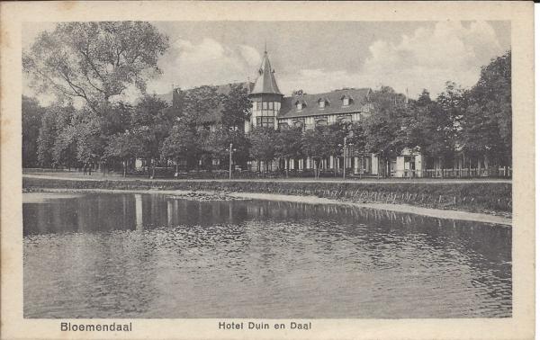 Lage Duin en Daalscheweg, Hotel Duin en Daal (7)