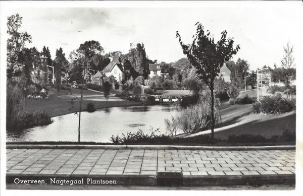 Céaralaan, Nagtegaal-plantsoen, 1957