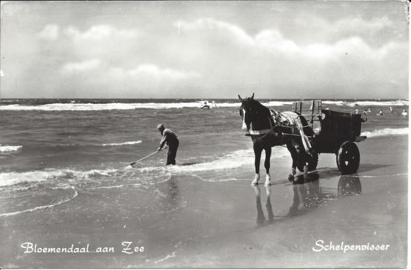 Zeeweg, Bloemendaal aan Zee, 1965