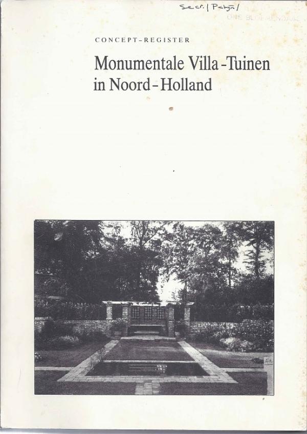 Monumentale villa-tuinen in Noord-Holland