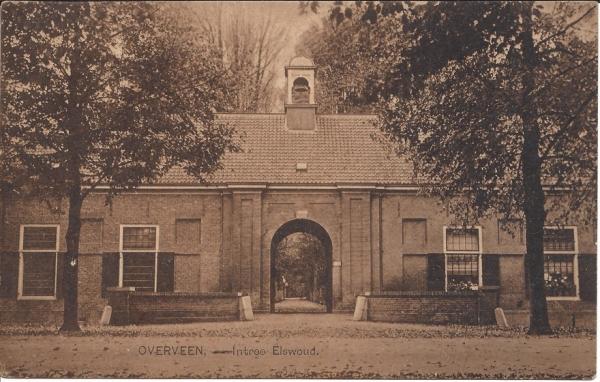 Elswoutslaan, Entrée Landgoed, 1923