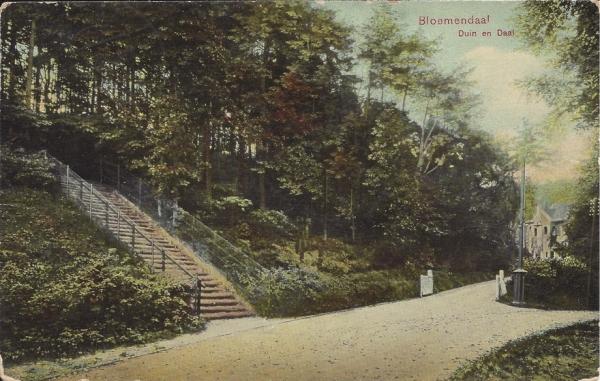 Midden Duin en Daalscheweg, Kijkduin-trap, 1908