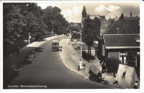Bloemendaalscheweg, hoek Zijlweg, 1938