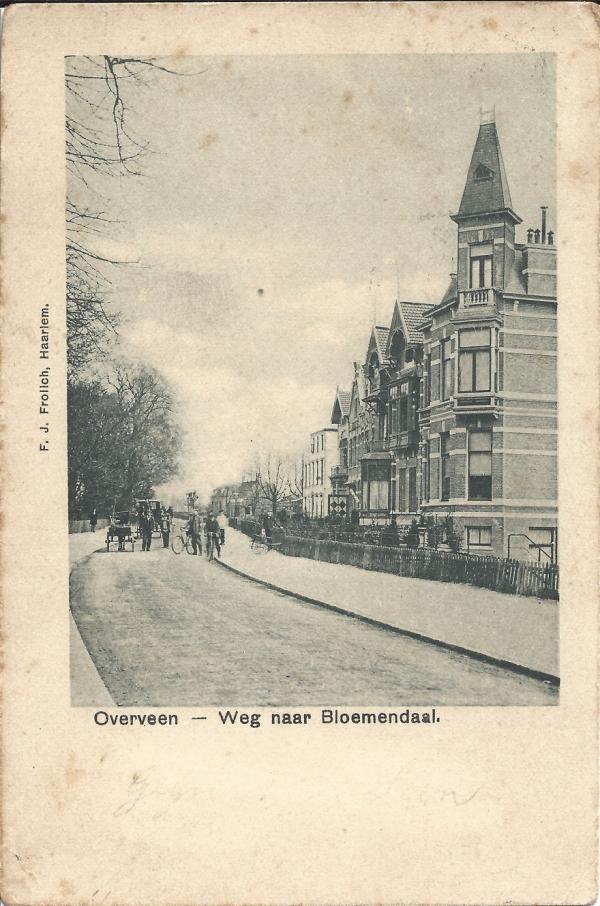 Bloemendaalscheweg, hoek Zijlweg, 1901 (1)