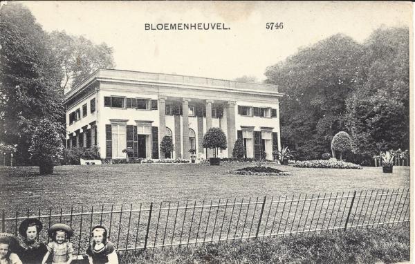 Bloemendaalscheweg, Bloemenheuvel, 1913