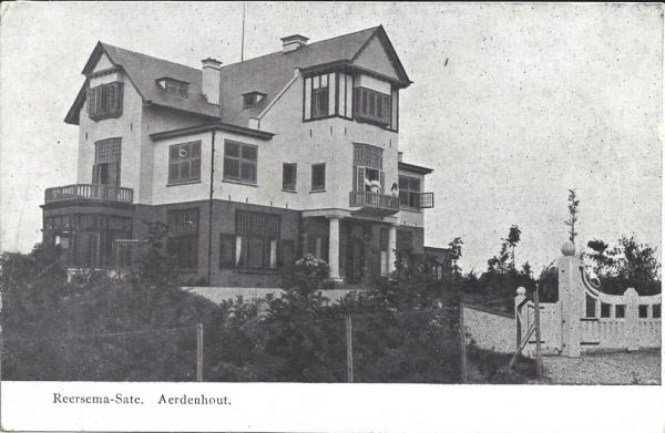 Bentveldsduinweg, Reersema-Sate (Sonneheuvel), 1903