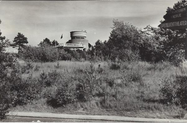 Hooge Duin en Daalscheweg, 't Kopje, met Uitkijktoren 1958 (2)