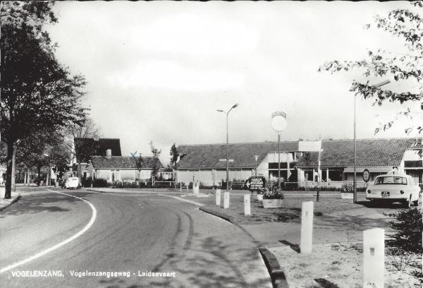 Vogelenzangscheweg, Hoek Leidschevaart 1968