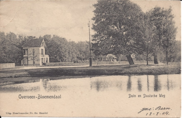 Lage Duin en Daalscheweg, Halve Maantje 1904