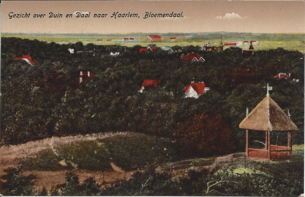 Hooge Duin en Daalscheweg, Panorama 't Kopje