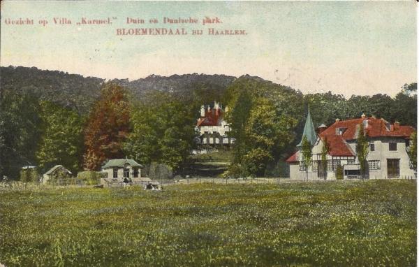Midden Duin en Daalscheweg, Huize Karmel, 1910