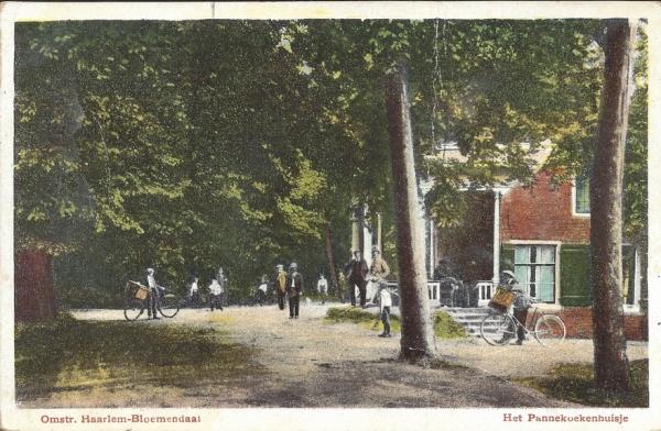Mollaan, Pannekoekenhuisje, 1918