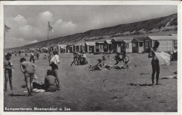 Zeeweg, Bloemendaal aan Zee, 1955 (1)