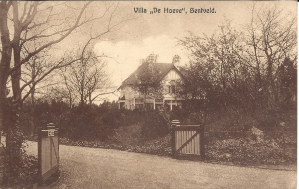 Bentveldsduinweg, Villa De Hoeve, 1943
