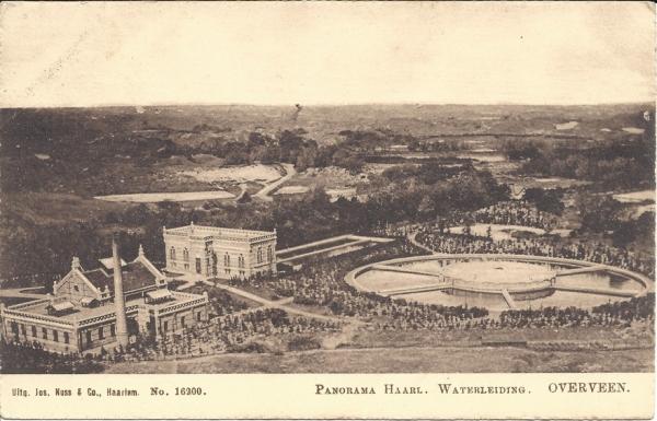 Tetterodeweg, Haarlemse Waterleiding, 1910