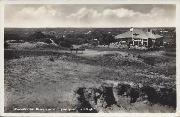 Hooge Duin en Daalscheweg, 't Kopje, de Uitkijk, 1940