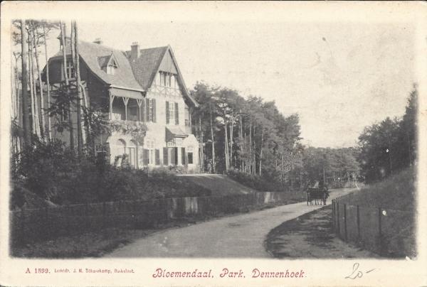 Parkweg, Villa Dennenhoek, 1899