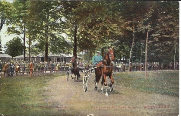 Woestduin, Renbaan Woestduin, 1913 (5)