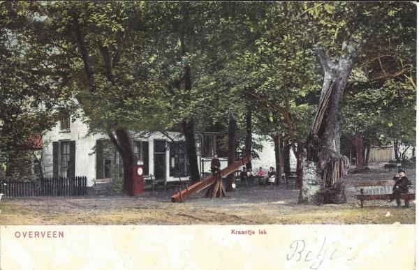 Duinlustweg, Kraantje Lek, 1905