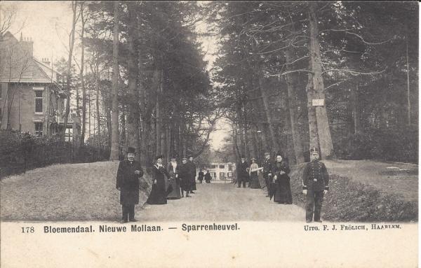 Mollaan, Sparrenheuvel, 1903