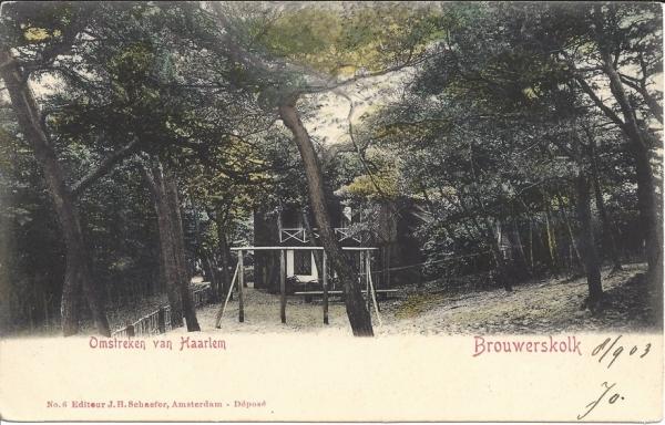 Brouwerskolkweg, 1903
