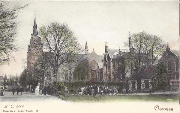 Korte Zijlweg, O.L.V. Kerk, 1903 (2)