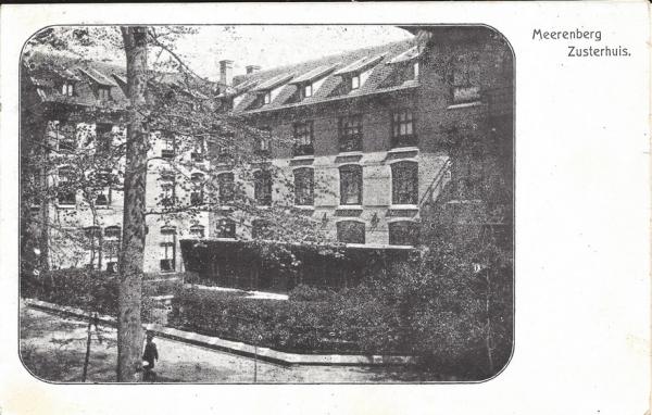 Brederodelaan, Meerenberg, Zusterhuis 1914