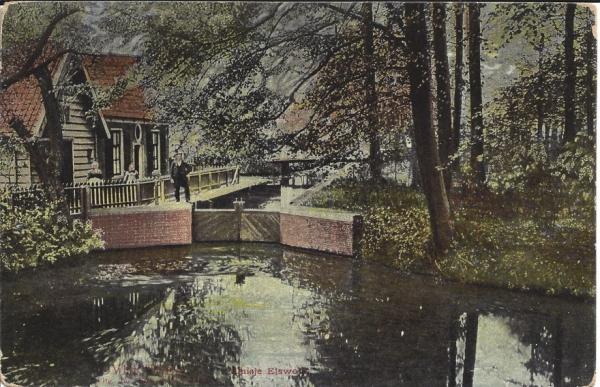 Elswoutslaan, Elswout, sluisje, 1912