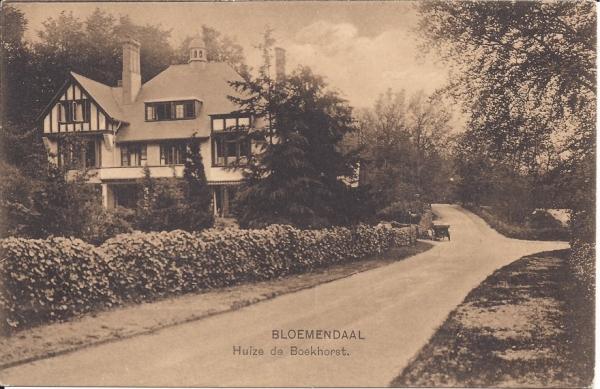 Midden Duin en Daalscheweg, Huize de Boekhorst (1)